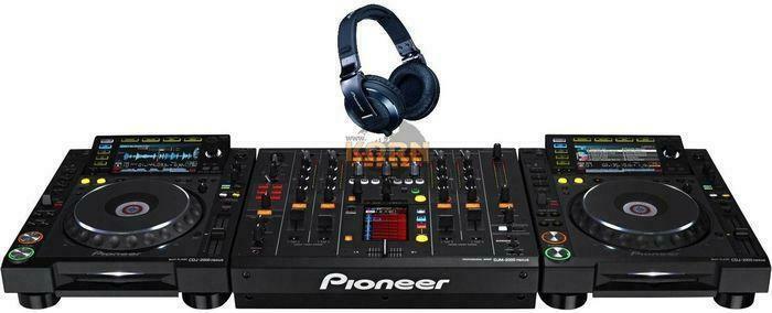 Brand New Cdj 2000 nexus + 1 djm mixer 2000 nexus