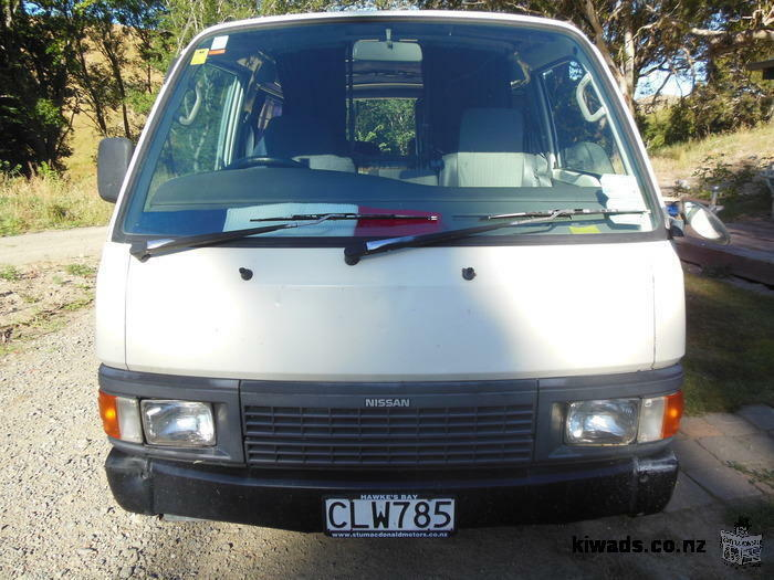 Nissan caravan fully equiped, alarm, 1996, manual, good conditions with job