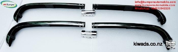 Stainless Steel Bumper Set for the Borgward Arabella bumper Year 1959 - 1961