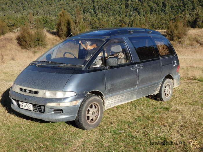 Toyota Estima Emina - Travellers Van