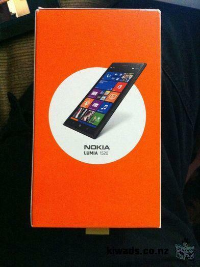 Unlocked Nokia Lumia 1520